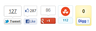 Canonical Social Buttons