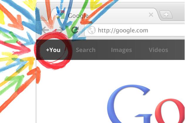 Google Plus Header