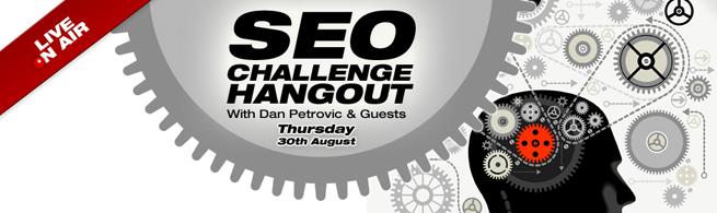SEO Challenge Hangout