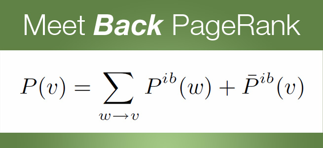 Back PageRank
