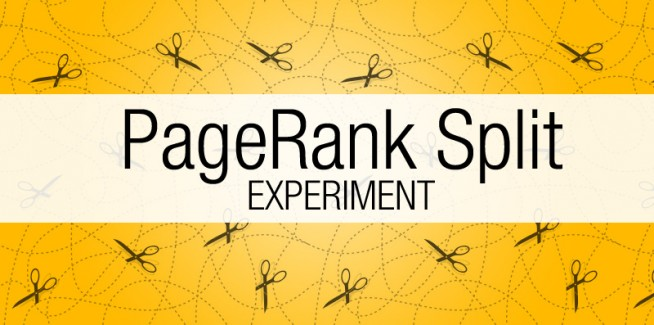 PageRank Split Experiment