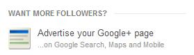 Google+ Ad