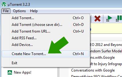 new torrent
