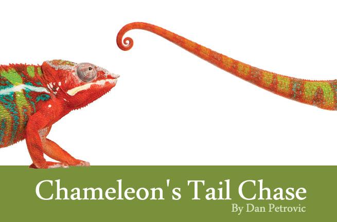Chameleon's Tail Chase