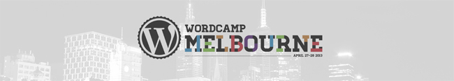 WordPress Camp Melbourne 2013