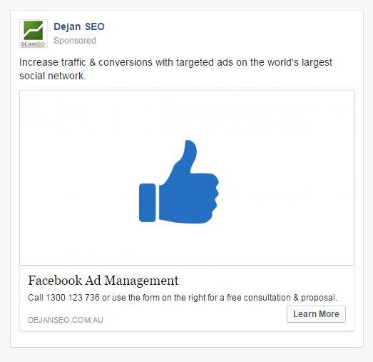 fb ad example