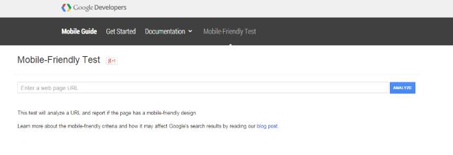 Mobile Friendly Bookmarklet Screenshot