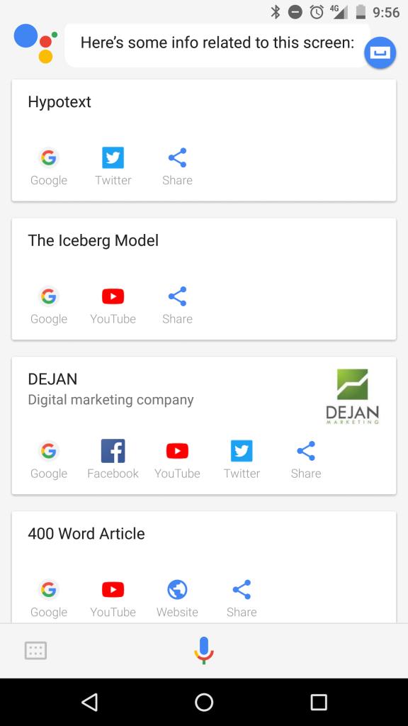 Page Topics